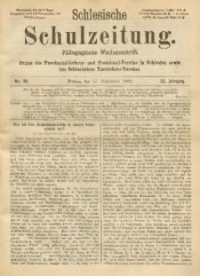 Schlesische Schulzeitung, 1904, Jg. 33, No. 38