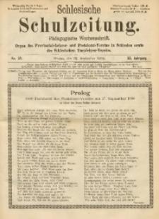 Schlesische Schulzeitung, 1904, Jg. 33, No. 39
