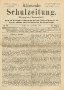 Schlesische Schulzeitung, 1905, Jg. 34, Nr. 41