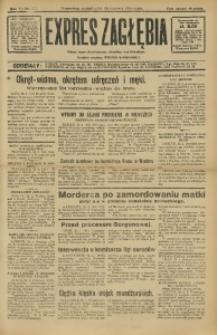 Expres Zagłębia. Jedyny organ demokratyczny niezależny woj. kieleckiego, 1932, R. 7, Nr. 113
