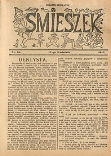 Śmieszek, 1913, nr16