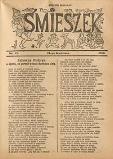 Śmieszek, 1913, nr17
