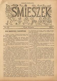 Śmieszek, 1913, nr34