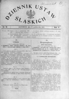 Dziennik Ustaw Śląskich, 25.10.1923, R. 2, nr 38