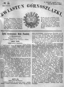 Zwiastun Górnoszlązki, 1870, R. 3, nr 35