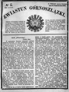Zwiastun Górnoszlązki, 1870, R. 3, nr 43