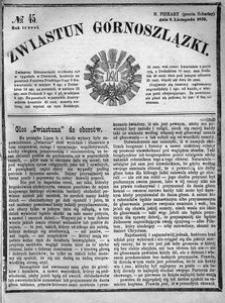 Zwiastun Górnoszlązki, 1870, R. 3, nr 45