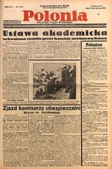 Polonia, 1937, R. 14, nr4543