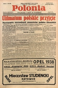 Polonia, 1938, R. 15, nr4822