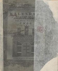 Kalendarz Powszechny Domowy i Gospodarski podług Stanisławowskiego Horyzontu Wyrachowany na rok 1845 (R. 9))