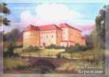 Brzeżany. Widok na zamek Sieniawskich.