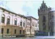 Brzeżany. Dawny budynek magistratu.