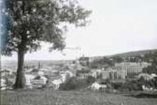 Brzeżany. Panorama miasta, po 1919 r.