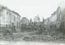 Brzeżany. Część rynku po wycofaniu się rosjan w czasie I wojny światowej, po 1918 r.