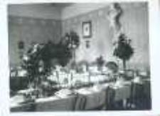 Brzeżany. Wnętrze nieistniejącego już domu Sokoła, 1918 r.