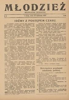 Młodzież, 1927, nr3