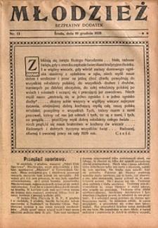 Młodzież, 1928, nr13