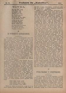 Dodatek do Katolika, 1911, nr25