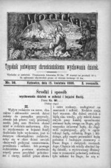 Monika, 1886, R. 1, nr 16