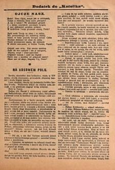 Dodatek do Katolika, 1909, nr2