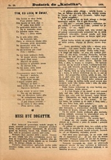 Dodatek do Katolika, 1909, nr29