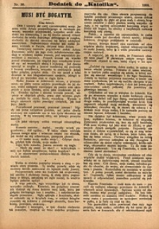 Dodatek do Katolika, 1909, nr30