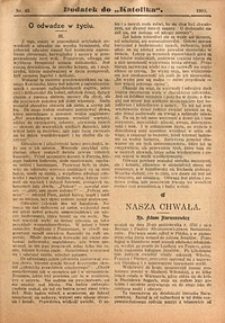 Dodatek do Katolika, 1909, nr43