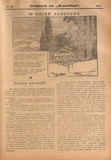 Dodatek do Katolika, 1909, nr44