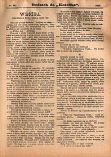 Dodatek do Katolika, 1910, nr19