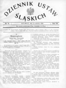 Dziennik Ustaw Śląskich, 12.04.1928, R. 7, nr 10