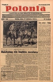 Polonia, 1931, R. 8, nr2404