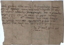 Fragmenty starych dokumentów