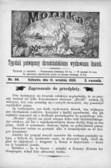 Monika, 1886, R. 1, nr 38