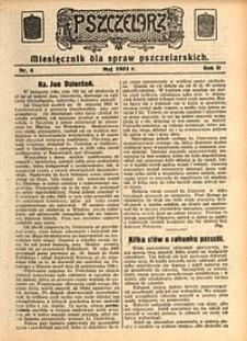 Pszczelarz, 1931, R. 2, nr4