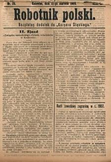 Robotnik Polski, 1908, nr25
