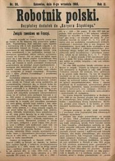 Robotnik Polski, 1908, nr36