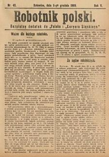 Robotnik Polski, 1909, nr48