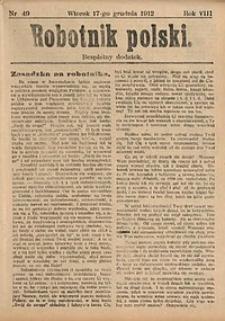 Robotnik Polski, 1912, nr49