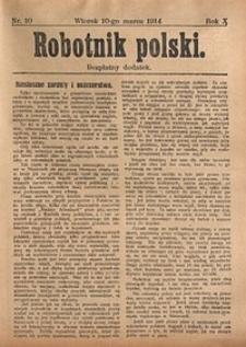 Robotnik Polski, 1914, nr10