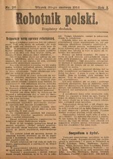 Robotnik Polski, 1914, nr26