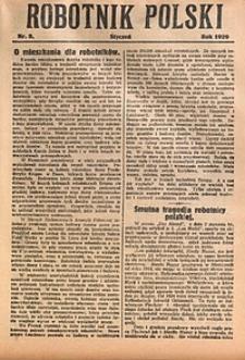 Robotnik Polski, 1929, nr2