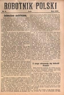 Robotnik Polski, 1929, nr6
