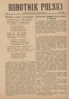 Robotnik Polski, 1927, nr1