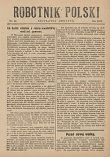 Robotnik Polski, 1927, nr23