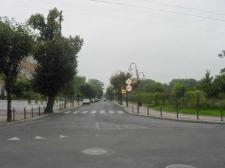 Głubczyce. Ulica Kochanowskiego - widok na wschód, 2007 r.