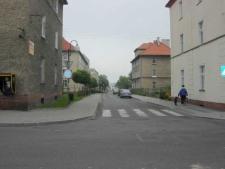 Głubczyce. Skrzyżowanie ulic Chrobrego z Krakowską, 2007 r.