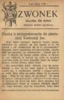Dzwonek, 2 marca 1926