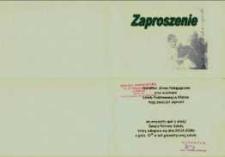 Zaproszenie na uroczysty apel, 2008 r.