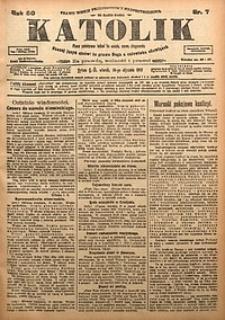 Katolik, 1917, R. 50, nr7