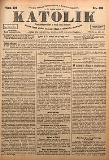 Katolik, 1917, R. 50, nr22